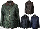 LADIES OXFORD BLUE HIGHGATE CLASSIC QUILTED JACKET