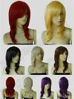 Synthetic Heat Resistant 20 in. Long 50cm Medium Wavy Cosplay Wig Free Shipping