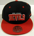 NHL New Jersey Devils Mitchell and Ness Vintage Fitted Cap Hat M