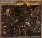 Art Print - King Pippins Army Trying To Reach Venice - Vicentino Andrea 1542 161