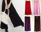 Boho Womens Summer Wide Leg Yoga Gaucho Palazzo Exercise Lounge Thin Pants