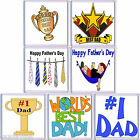 FUN FATHERS DAY DRINKS COASTER CHOICE OF 7 STYLES