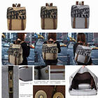 New Fashion Cotton Girl Unisexy's Canvas Shoulder Bag Backpack School Shopping