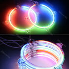 Car CCFL Headlight Neon Angel Eye Halo Ring Rim Decorative Light Activate Lamp
