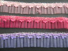 Sparkle Organza Box Pleat Trim Various Colours  Sewing/Crafts/Costume