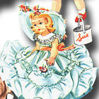 Vtg Doll Clothes Dress Nightgown Pattern 8
