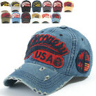 ililily Discovery Logo Distressed Vintage Baseball Cap Snapback Trucker Hat 604