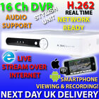 A16 16 CHANNEL CCTV DVR REAL TIME NETWORK VIDEO RECORDER 16CH 1000GB 1TB 2TB HDD