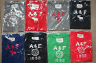 Brand New Women's A & F Abercrombie & Fitch T Shirts 100% Authentic Slim Fitting