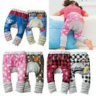 Baby Toddlers Trousers Pants (Plaid, Check, Jean, Polka Dot, Star) 6M - 3 YRS