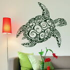 Fresh Water Fish Wall Transfer / Interior  Decal / Fish Wall Sticker Turtle an13