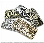 *NEW FASHION ANIMAL PRINT PU LEATHER FLAT FRAME* WALLET/EVENING BAG/PURSE/CLUTCH