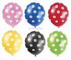 SPOTTY BALLOONS - Choose your Colours - HELIUM QUALITY - PARTY