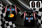 Tony Stewart Authentic Mobil 1 Mens Embroidered Black Nascar Pit Shirt-JH-13