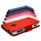 6 COLOUR WALLET BOOK FLIP MOBILE PHONE CASE COVER POUCH FOR NOKIA LUMIA N620 620