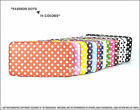 *NEW DOTS PU LEATHER FLAT FRAME* WALLET/PURSE/EVENING PARTY BAG/HAND BAG/CLUTCH