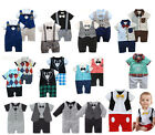 Baby Smart Causal Romper - Plaid, Pilot, Stripes, Sporty, Mickey, Vest, Cardigan