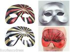 Domino Half Face Silver,Spiderman,Red,Gold Masquerade Carnival Fancy Dress Mask