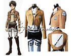 Shingeki no Kyojin Attack on Titan Eren Jäger Cosplay Training Corps Top Jacket