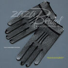 Stylish Crochet Gloves with Delicate trim-Victorian+Regency Fish Net Gloves