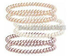 One Lovely charming 7-8mm AAA pearl bracelet jewelry(3 color can choose)jewelry