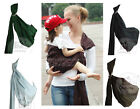 New Cotton Ring Sling Pouch Baby Carrier Fit 0-36Months Baby