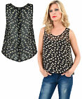 New Gorgeous Luxury Casual Cat Printed Sleeveless Party Ladies Top Women Dress