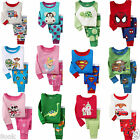 39 Styles of Sleepwear Pajama Sets for Baby Toddler Kids Boys Girls / Size 2T-7T