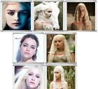 GAME OF THRONES Emilia Clarke Daenerys Targaryen Acrylic Coaster  DIFFRENT ONES