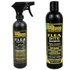 EQyss Flea Bite Dermatitis Shampoo & Spray Dog Cat Pet horse Controls Scratching