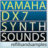 Yamaha DX7 Sample Reason Refill EXS 24 Soundfont Kontakt nki Keyboard Sounds DVD