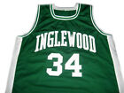 PAUL PIERCE #34 INGLEWOOD HIGH SCHOOL JERSEY SEWN NEW GREEN - ANY SIZE