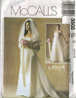 2002 Alicyn Exclusives Wedding Dress Veil Choice 6-22 Pattern McCall's 3502 OOP