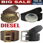 COLLECTION OF 100% GENUINE DIESEL LEATHER BELTS FOR MEN'S (BRAND NEW WITH TAG)