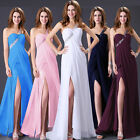 Beaded Prom Bridal Gowns Dress Formal Bridesmaid Evening Party Cocktail Dresses