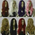 Synthetic No Bangs 60cm Long 24 inch Curly Cosplay Wigs Free Shipping 3-1