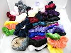 Scrunchies Velvet Fabric Hair Colors Pick UP  8pcs.
