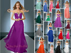 Chiffon Homecoming Prom Evening Dresses Party Bridesmaid Formal Gowns Size 6-26