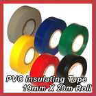 Electrical PVC Insulation Insulating Tape 19mm X 20m Roll HIGH QUALITY PVC TAPE