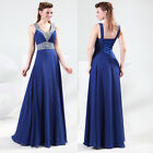 Luxury Sexy Bridesmaid Chiffon Evening Party Formal Prom Ball Gown Long Dresses