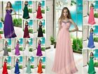 New Plus Evening Homecoming Dresses Bridesmaids Party Prom Formal Gowns 6-26