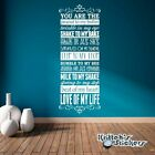 You Are The Peanut To My Butter, Twinkle In My Eye Vinyl Wall Decal sticker L036