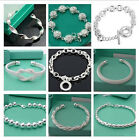 FREE P&P wholesale Fashion jewelry SILVER Lady Bracelet/bangle & Box925 for Gift