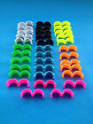 35 LEG RINGS,CHICKENS,DUCKS,POULTRY HENS,HATCHING EGGS MIXED COLOURS