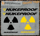 Nukeproof Stickers - decals mtb dh downhill scalp mega pulse snap helmet bike