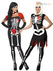 Halloween Ladies Sexy Skeleton Costume Glow in The Dark Women Fancy Dress Outfit