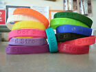 God Strong Bracelet, Silicone, Eph 6:10, Christian, Religious, Sunday School
