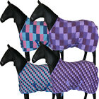 HORSE RIDING PONY COB FULL TRAVEL SHOWING STABLE COOLER FLEECE RUG SIZE 4'0-7'0