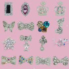 50PCS cell phone nail art supplies acrylic alloy decoration rhinestones jewelry