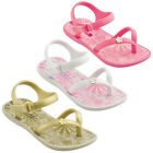 KIDS GIRLS TODLERS FLAT BEACH PINK SUMMER SANDALS FLIP FLOPS GLADIATORS SIZE 4-7